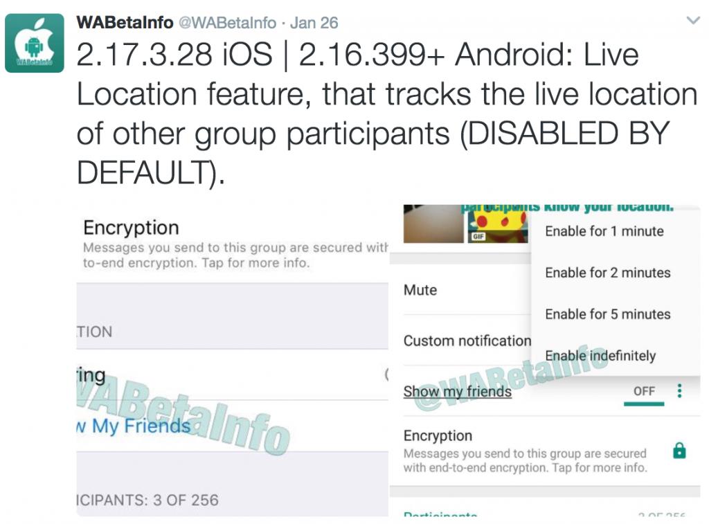 Screen Shot 1438 05 01 at 5.43.07 AM 1024x757 - ميزة Live Location بالواتساب الموقع لحظياً  تتبع اللي تبي أول بأول