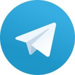 telegram logo 150x150 - واتساب وتيلجرام