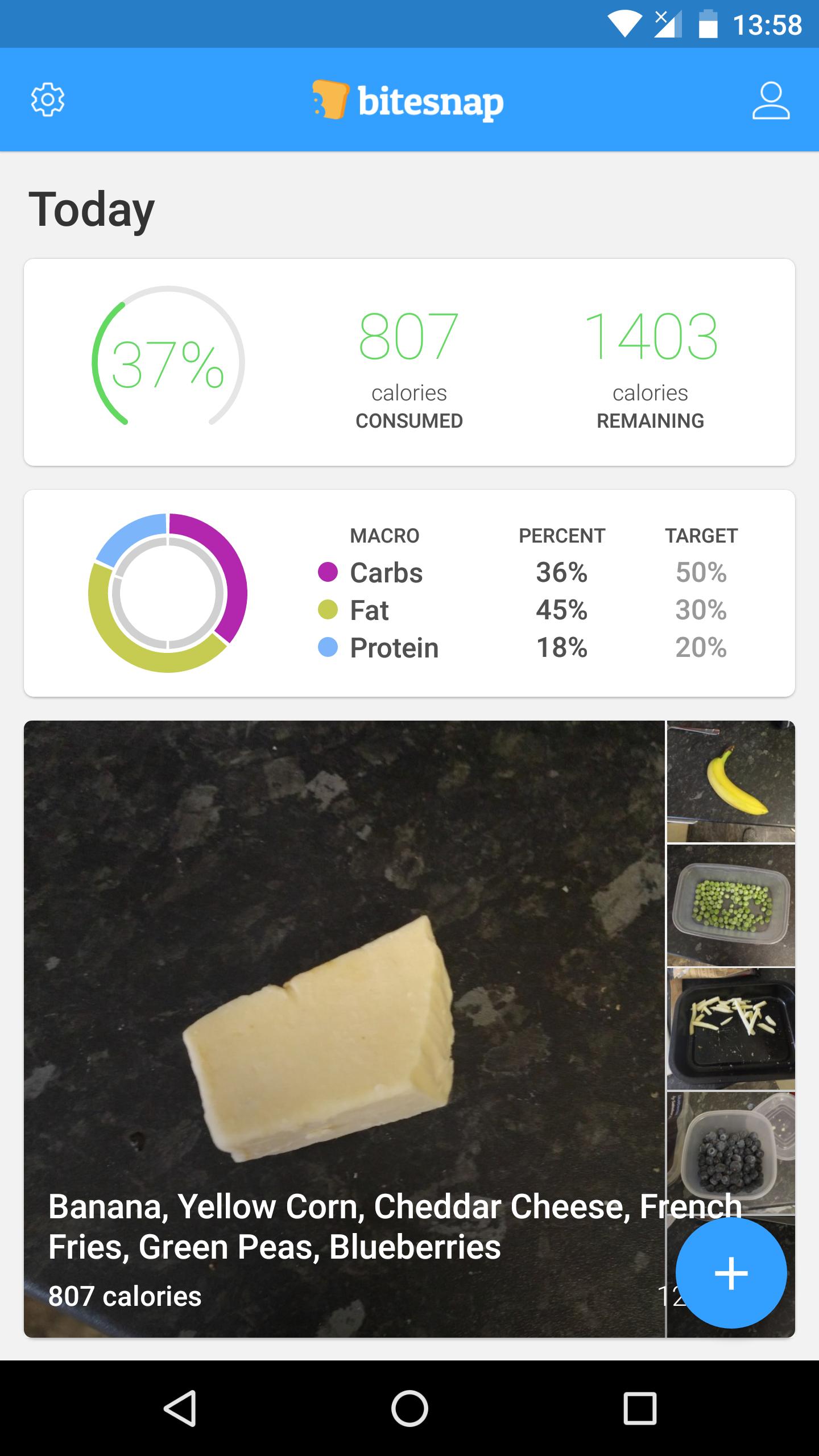 2 - تطبيق Bitesnap لمساعدتك في بناء نظامك الغذائي الصحي بأفكار جديدة