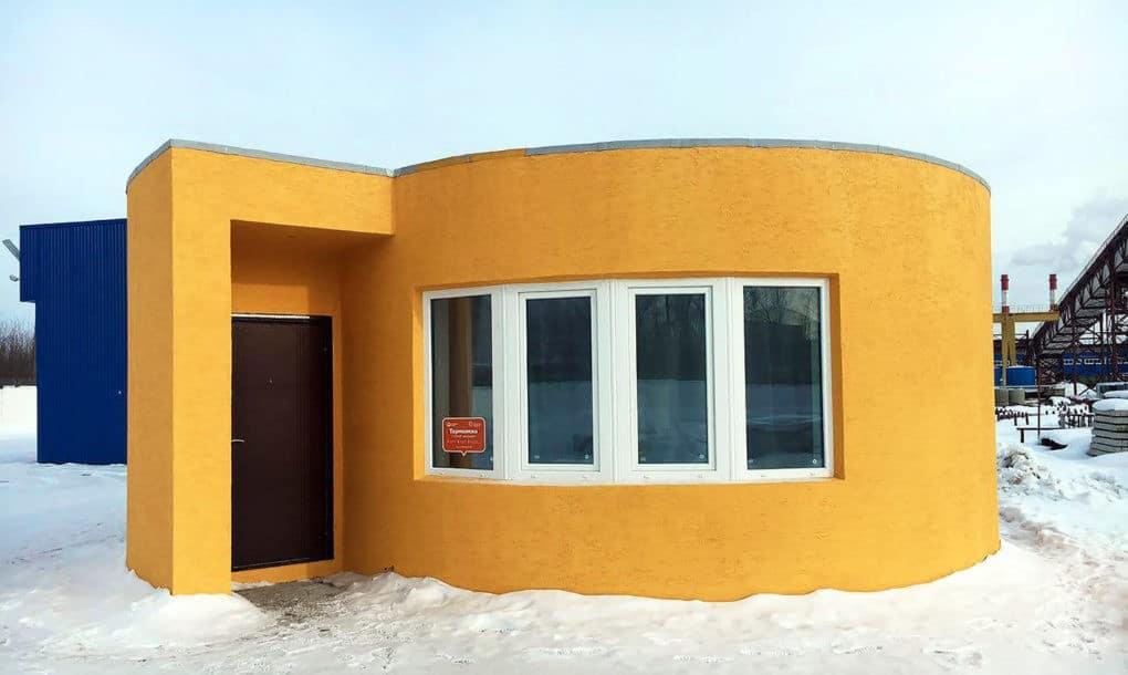 5 3 - منزل بالكامل تتم طباعته بطابعة ثلاثية الأبعاد في 24 ساعة فقط!