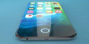iphone 8 concept embedded fingerprint reader 300x150 - صور ايفون 8 والشكل المتوقع مع شاشة منحنيه