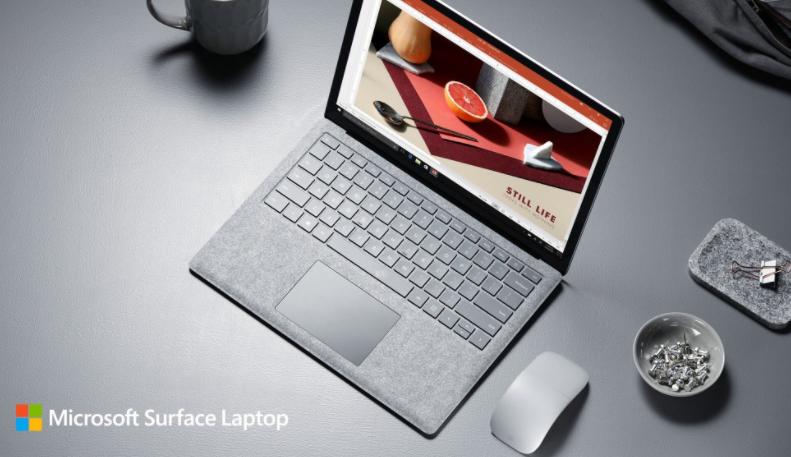 Screen Shot 1438 08 09 at 12.09.20 AM - Surface Laptop الجديد من مايكروسوفت - لابتوب أنيق بمواصفات مميزة