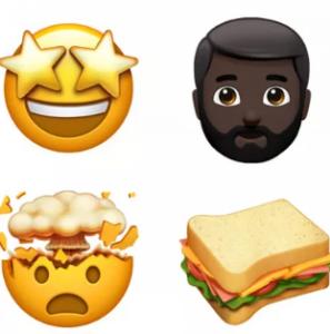 emoji 297x300 - شركة أبل تعلن عن صور إيموجي جديدة بنسخة ios 11