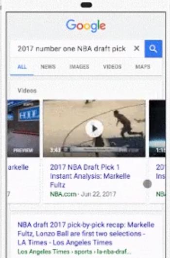 google autoplay search results android - إضافات جديدة تضيفها جوجل إلى نتائج البحث الخاصة بها أهمها إضافة Video Preview