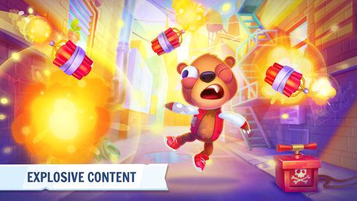 Despicable Bear game - لعبة Despicable Bear لمستخدمي أجهزة iOS، رائعة ومسلية ويجب عليك تجربتها