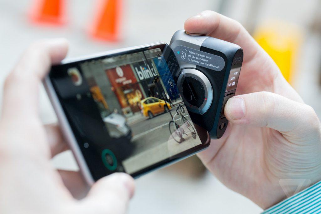 DxOs detachable smartphone camera 1024x683 - كاميرا DxO One المخصصة لهواتف iOS والقابلة للإنفصال تصل إلى هواتف الآندرويد