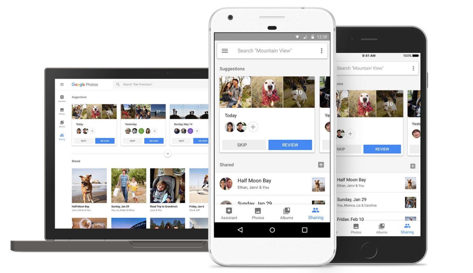 Google Photoes - تطبيق Google Photos يسمح لك بمشاركة الفيديوهات حتي عند بطئ الإنترنت