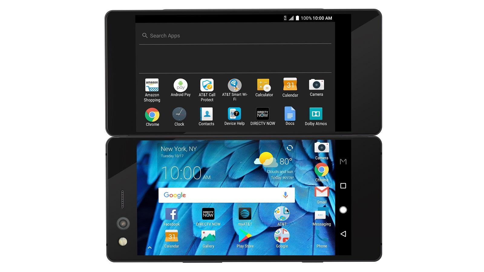 zte axon m open - ZTE تطلق هاتف Axon M بقوة هاتفين مدمجين في هاتف واحد قابل للطي