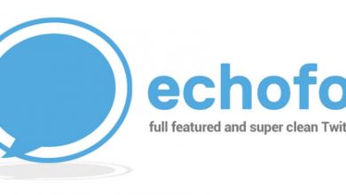 تطبيق Echofon