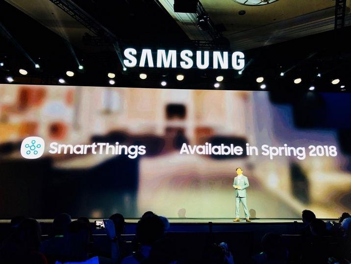 2018 01 09 02 37 44 Samsung at CES  SmartThings cloud coming this spring CNET - أبرز منتجات اليوم الأول من أكبر معرض للإلكترونيات الاستهلاكية CES 2018