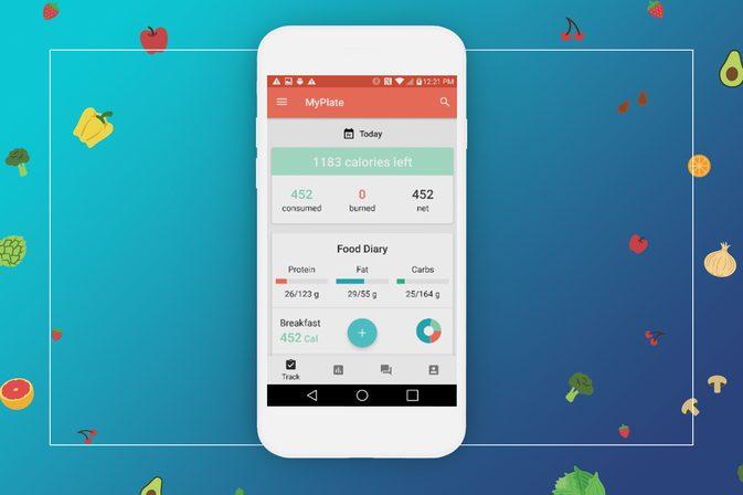 1 12 - تطبيق MyPlate Calorie Tracker يحسب السعرات الحرارية ويقدم وسائل لزيادة أو إنقاص الوزن
