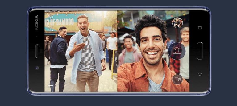 2 2 - تطبيقات أندرويد وآيفون للتصوير بالكاميرا الأمامية والخلفية معا حتى لو كان جوالك لا يدعم الميزة