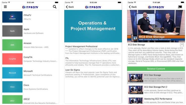 2018 02 28 12 00 58 ITPro.TV on the App Store - أفضل 5 تطبيقات تعليمية لمستخدمي آيفون وآيباد وأندرويد