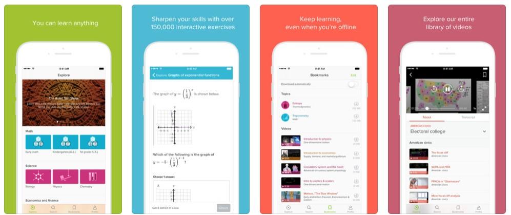2018 02 28 12 08 26 Khan Academy on the App Store - أفضل 5 تطبيقات تعليمية لمستخدمي آيفون وآيباد وأندرويد