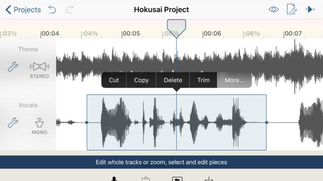 23 - أفضل تطبيقات تحرير المقاطع الصوتية لمستخدمي آيفون وآيباد