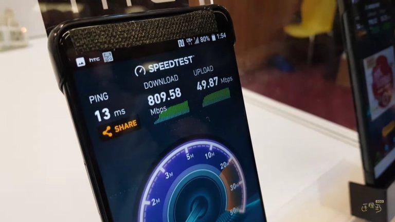 4 1 - بالفيديو: ظهور جوال HTC U12 يعمل بشبكة 5G وسرعة نت خيالية والكشف عن بعض مواصفاته