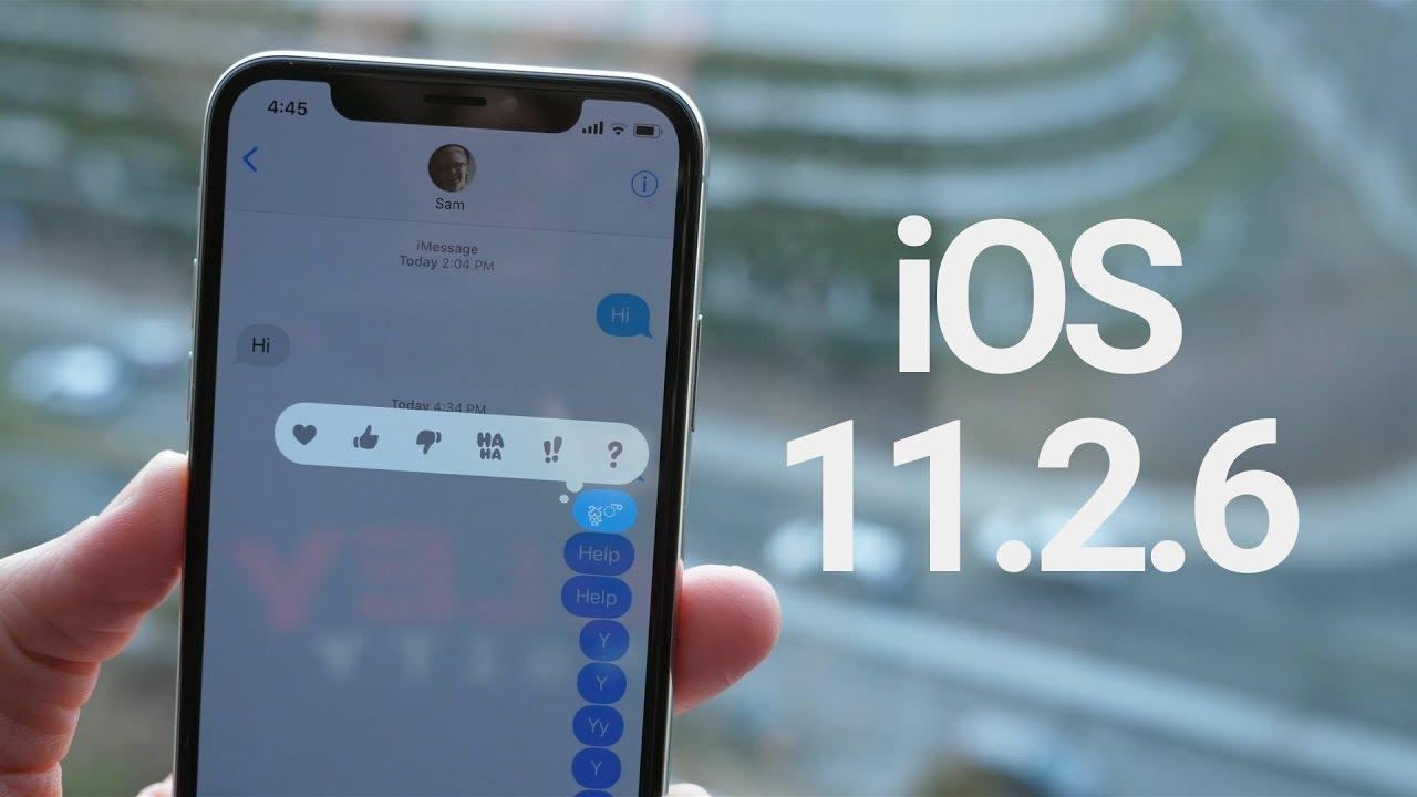 4 10 - تحديث iOS 11.2.6 يصل جوالات آيفون لمعالجة مشكلة انهياره
