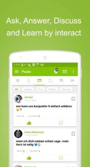 41 1 - تطبيق Lingo لتعلّم عدد كبير من اللغات عن طريق اللغة العربية