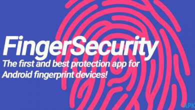 تطبيق FingerSecurity