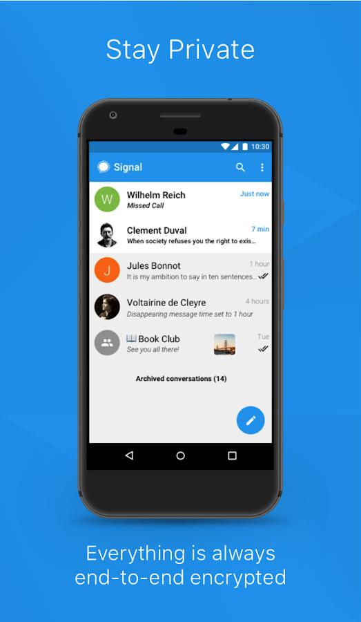 unnamed 3 - تطبيق signal لإرسال الرسائل المشفرة حصل على تمويل من أحد مؤسسي واتساب