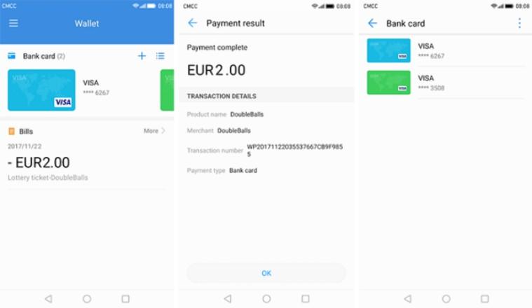22 2 - هواوي تقوم بإطلاق تطبيق الدفع الرقمي Huawei Wallet على متجر قوقل بلاي