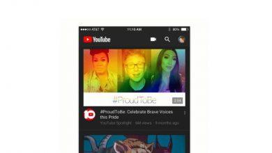 22 3 390x220 - يوتيوب تقدم الثيم الليلي أخيرا ضمن التطبيق