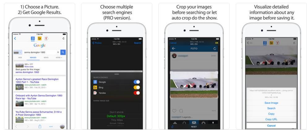 4 6 - أفضل تطبيقات البحث عن طريق استخدام الكاميرا