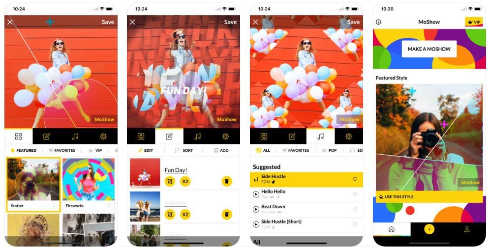 44 7 - تطبيق MoShow أداة جديدة لتحرير الفيديوهات والصور ومشاركتها على شبكات التواصل الاجتماعي