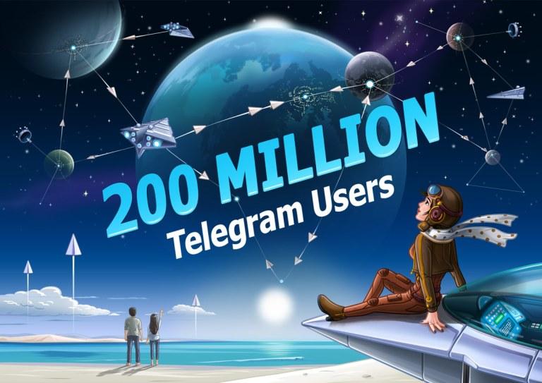 5e91c243045630923e - تطبيق تيليجرام يعلن عن وصول عدد المستخدمين الآن إلى 200 مليون مستخدم نشط شهرياً