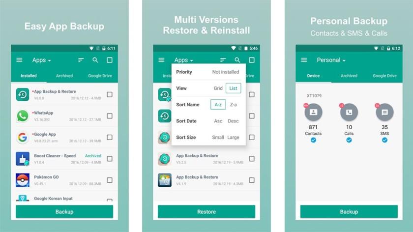 App SMS Contact Backup Restore - أفضل تطبيقات النسخ الاحتياطي لمستخدمي أجهزة أندرويد