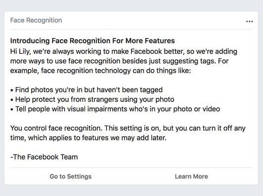 FBFaceRecognition InLine - فيسبوك سيبدأ بتفعيل ميزة التعرف على الوجه.. تعرف على أهدافها