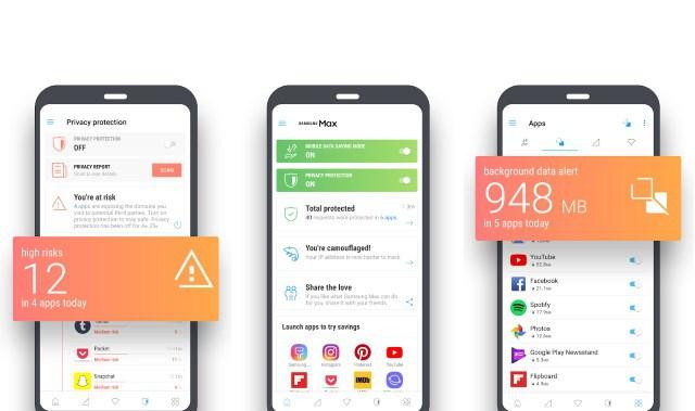 Samsung Max - أطلقت سامسونج تطبيق Samsung Max لحفظ البيانات والتصفح الأمن