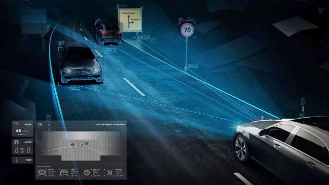 mercedes maybach digital light 6 - الأن مصابيح مرسيدس بإمكانها تجسيد الأشكال على الطريق