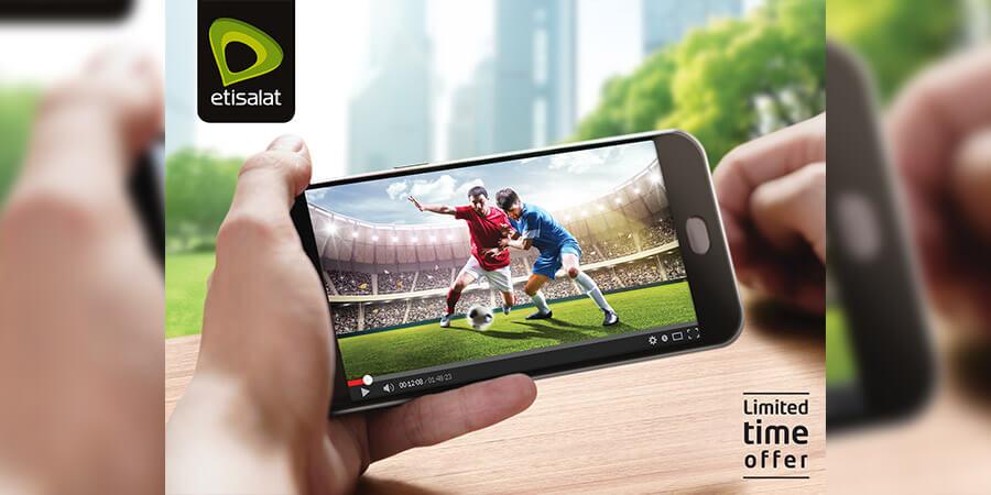 trme etisalat offer streaming - تطبيق Etisalat VR للواقع الافتراضي يبث مباريات الكرة القدم المباشرة