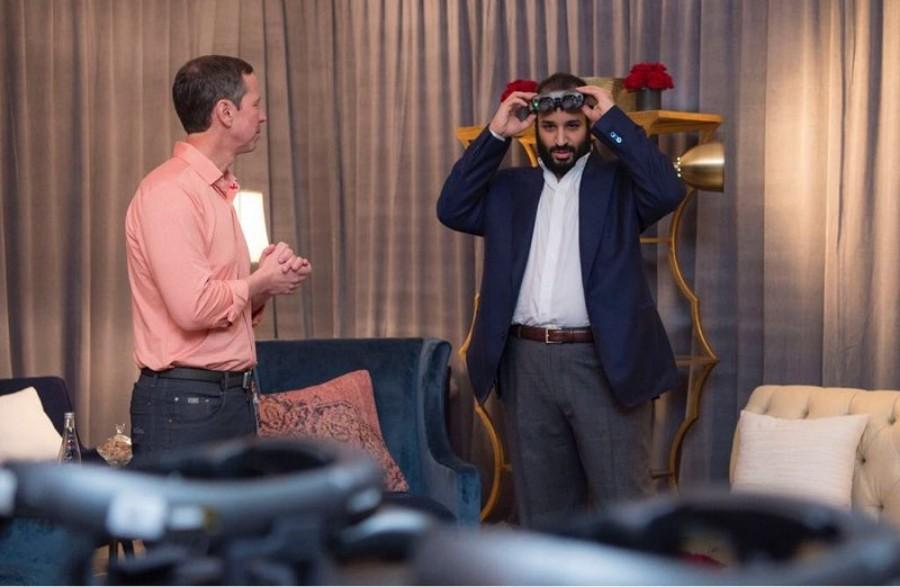 66 - لقاء ولي العهد محمد بن سلمان مع شركة ماجيك ليب المتخصصة في الواقع المعزز