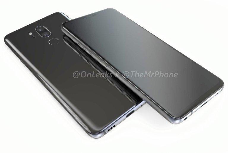 DZtZHXuVQAIz R1 - تسريبات: مواصفات والتصميم النهائي لجوال LG G7