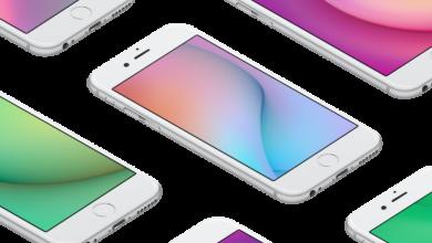 Facebook iOS 11 wallpaper splash 667x500 390x220 - تحميل خلفيات لجوال آيفون مقدمة من فريق تصميم فيسبوك