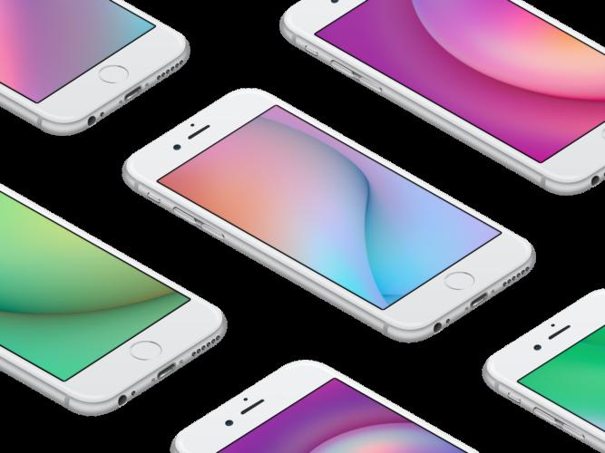 Facebook iOS 11 wallpaper splash 667x500 - تحميل خلفيات لجوال آيفون مقدمة من فريق تصميم فيسبوك
