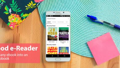 Goodereader app promo image 390x220 - تطبيق Audiobook Reader يتيح تحويل الكتب الإلكترونية إلي كتب مسموعة