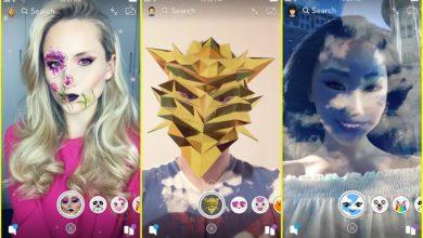 Snapchat Filters 390x220 - تطبيق سناب شات يتيح ميزة للمستخدمين تسمح بإنشاء الفلاتر الخاصة بهم