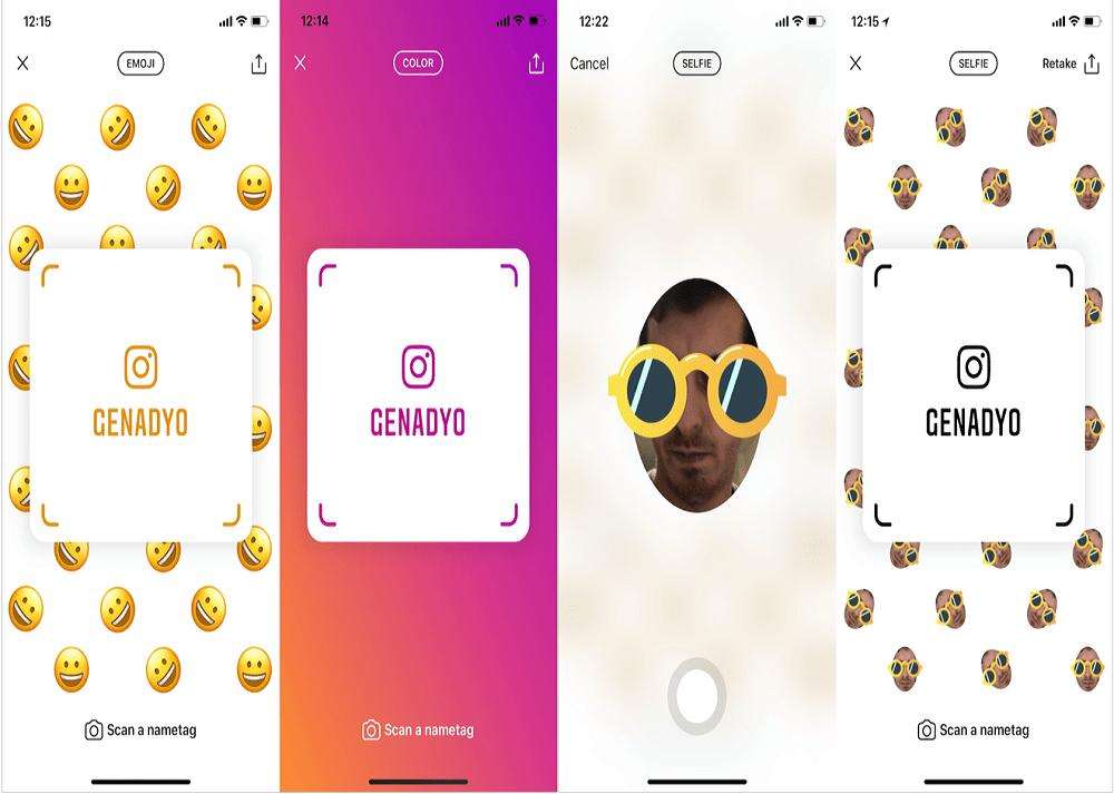 instagram nametags - إنستجرام تطلق خاصية جديدة Nametags لجميع المستخدمين والشبيهة بسناب كود