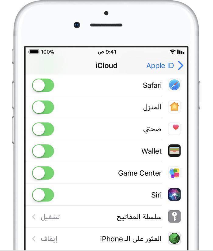 iphone7 ios11 settings appleid icloud find my off crop 1 - هذا ماعليك فعله إذا فقدت آيفون أو آيباد أو سُرِق .. طريقة لاسترجاعه