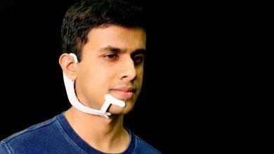 mit alterego headset  390x220 - تصميم سماعةAlterEgo مذهلة ستمكننا قريباً من قراءة أفكار الآخرين