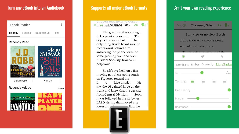 promo imaghe - تطبيق Audiobook Reader يتيح تحويل الكتب الإلكترونية إلي كتب مسموعة