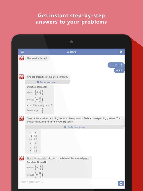 sc1024x768 1 - تطبيق Mathway لحل أي مسألة رياضية بالخطوات التفصيلية