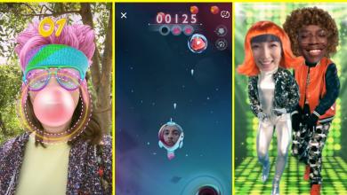 snappables games 390x220 - سناب شات تعلن عن تدشين Snappables للعب بتقنية الواقع المعزز
