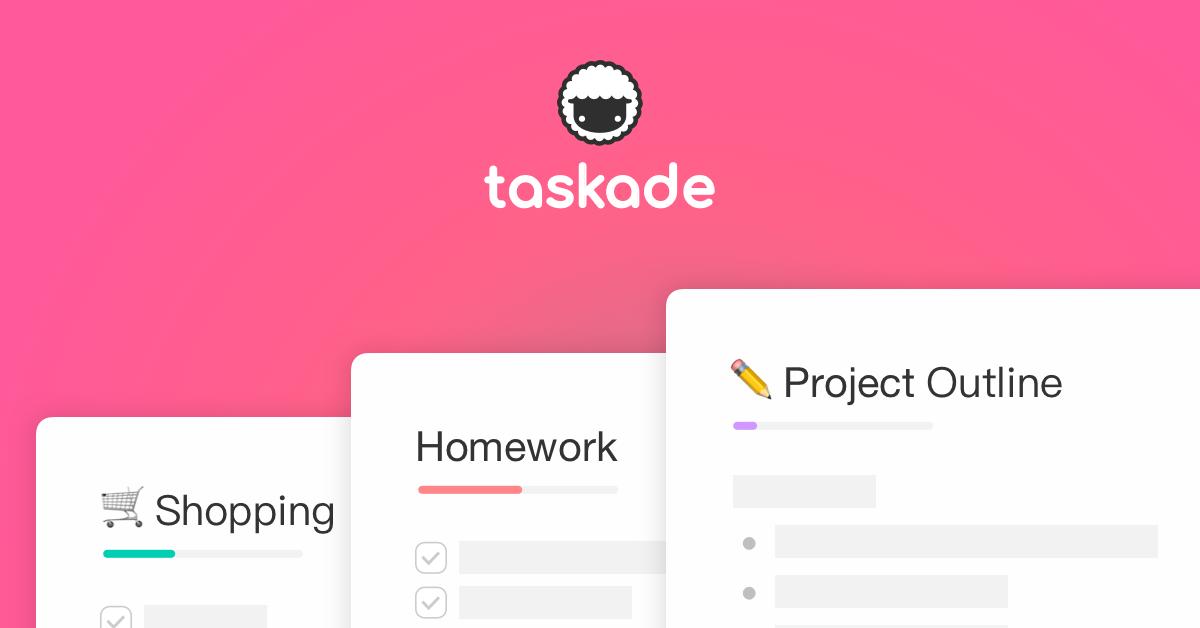 taskade logo - تطبيق Taskade لإدارة المهام والتصنيف وتنظيمها في قوائم بكل سهولة متاح لكل الهواتف الذكية