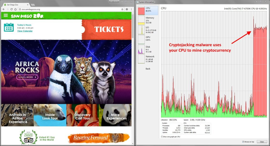 يقرب من 400 موقع دروبال مصابة ببرامج خب - إصابة ما يقرب من 400 موقع دروبال ببرمجة خبيثة لتعدين العملات الرقمية