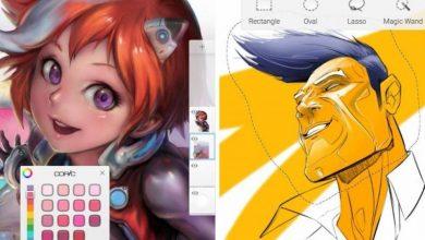 11111 390x220 - تطبيق Autodesk SketchBook مميز للرسم وبديل للفوتوشوب متاح مجاناً لكل الجوالات الذكية