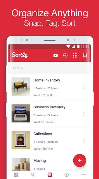 Sortly 3 - تطبيق Sortly يساعدك في التخلص من الفوضي في منزلك للأندرويد و الآيفون
